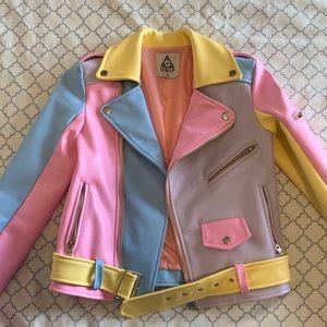 Unif Pastel Moto Jacket XS